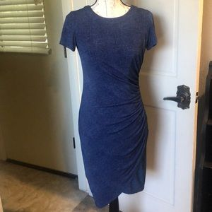 Jean colored stretchy dress